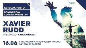 Collaborazione con Acieloaperto in occasione del concerto di Xavier Rudd