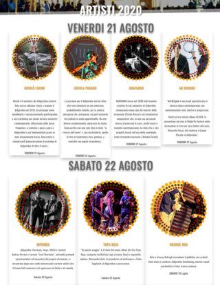 Svelati gli artisti della 18 esima edizione del Didgeridoo Festival